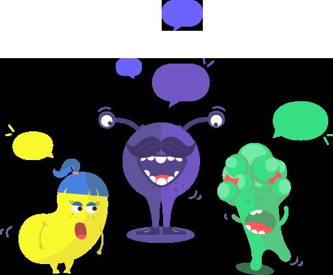 Conversation monstres L'École des Réseaux Sociaux