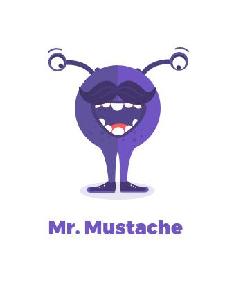 Mr Mustache L'École des Réseaux Sociaux