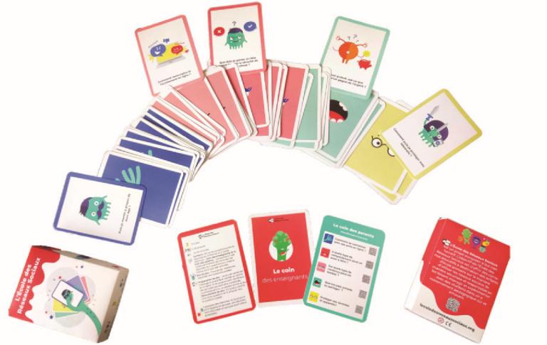 Jeux de cartes l'Ecole des Réseaux Sociaux